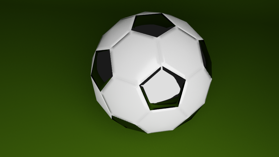 Low Poly Soccer Ball