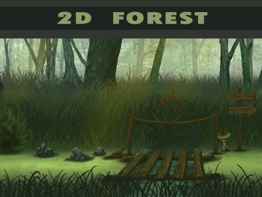 Stylized Forest 4k Vol 01