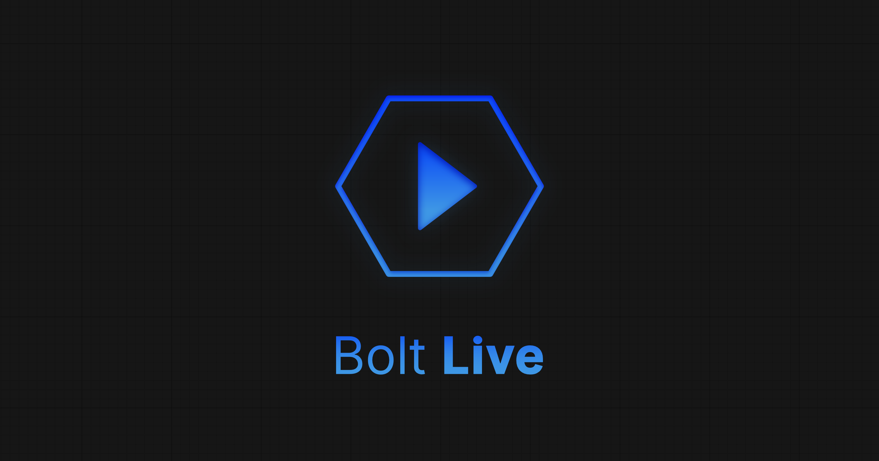 Now Available: Bolt Live