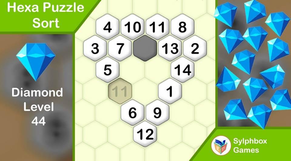 Hexa Puzzle Sort