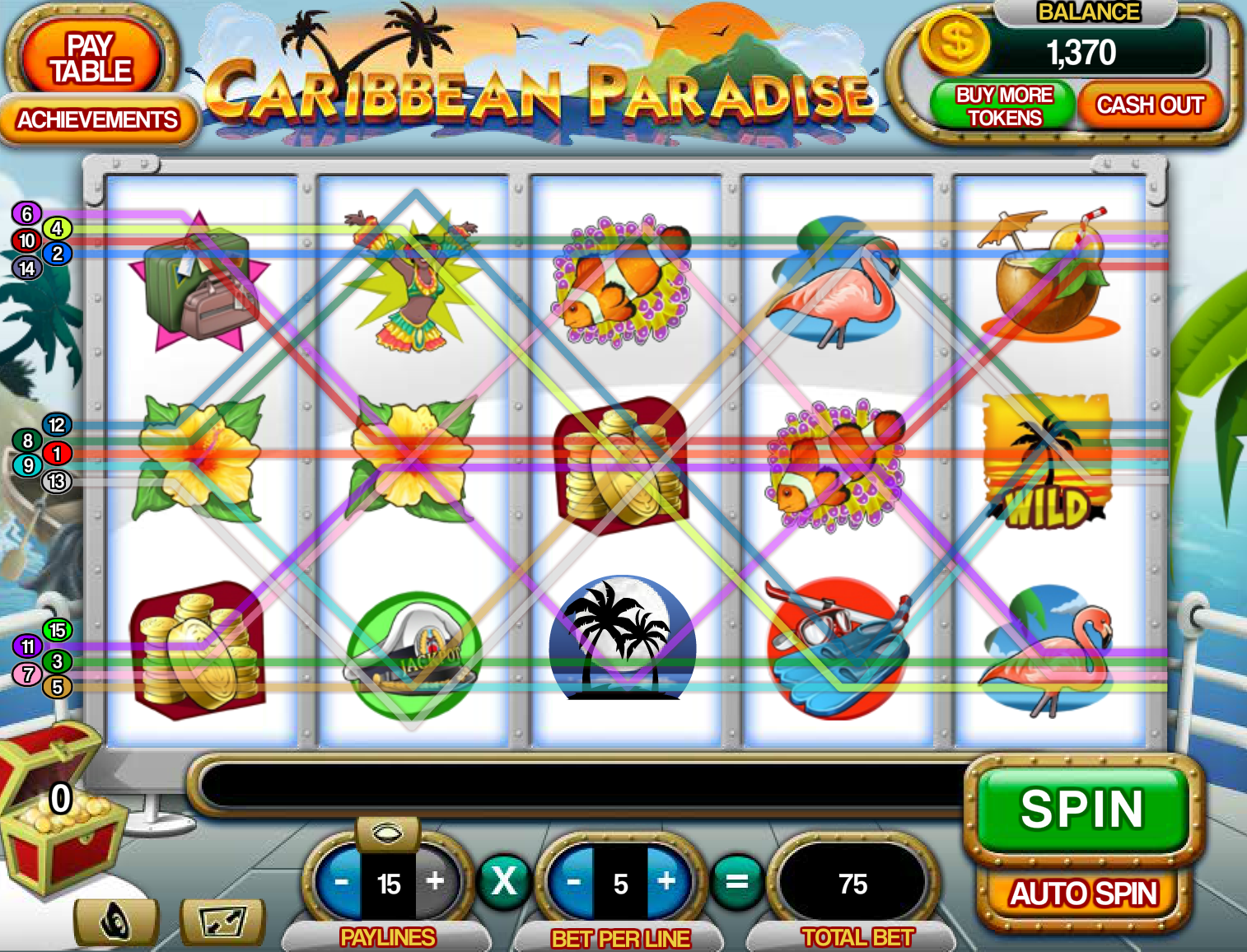 Caribbean Paradise Slots