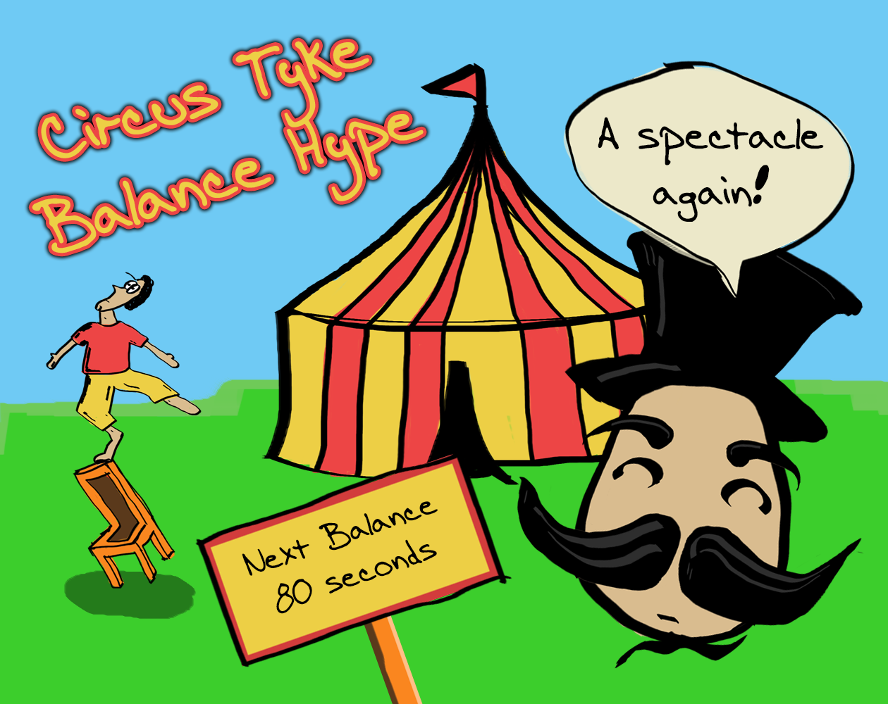 Circus Tyke Balance Hype