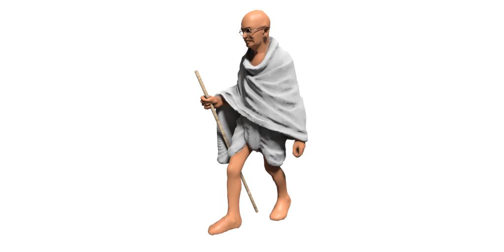 AR : Mahatma Gandhi