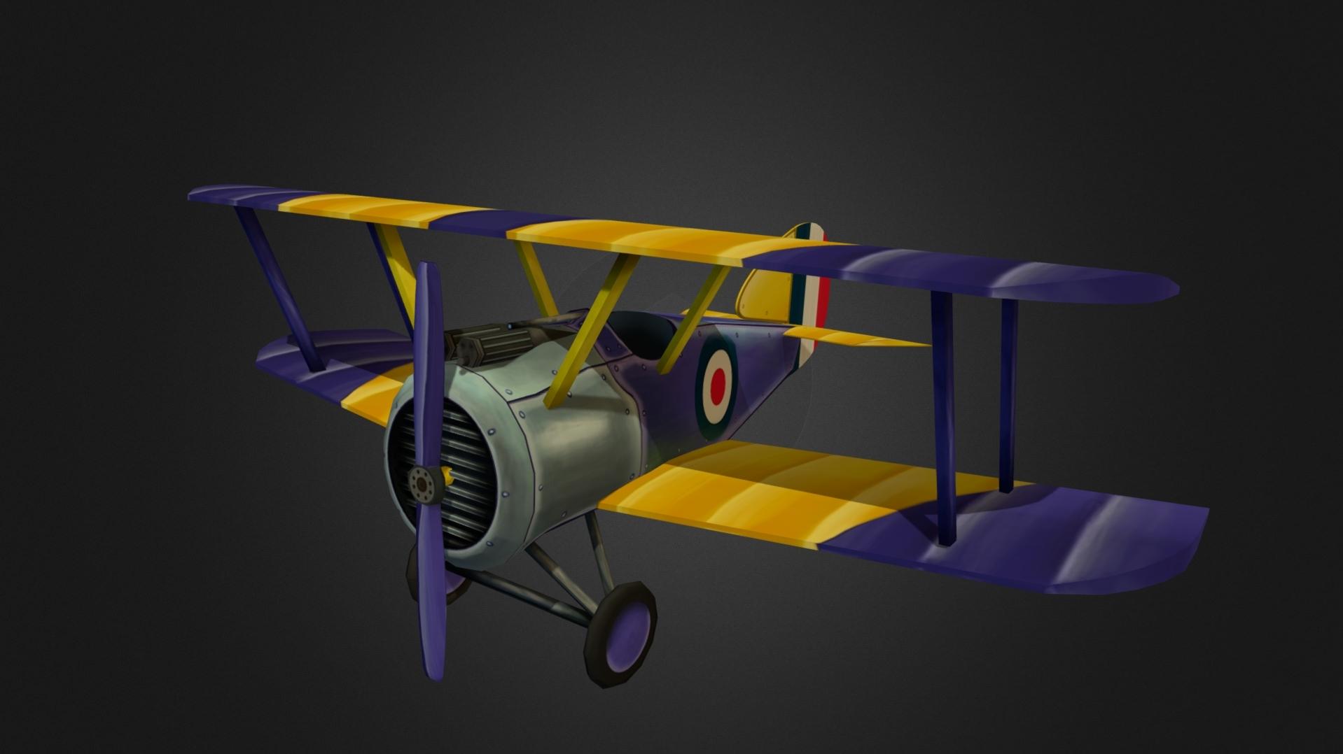 Stylized WW1 Plane