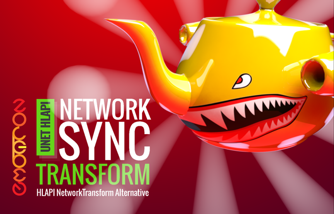 Network Sync Transform (Unity Asset)