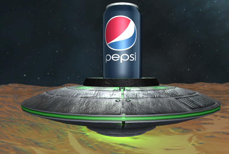 Pepsi Experience Demo
