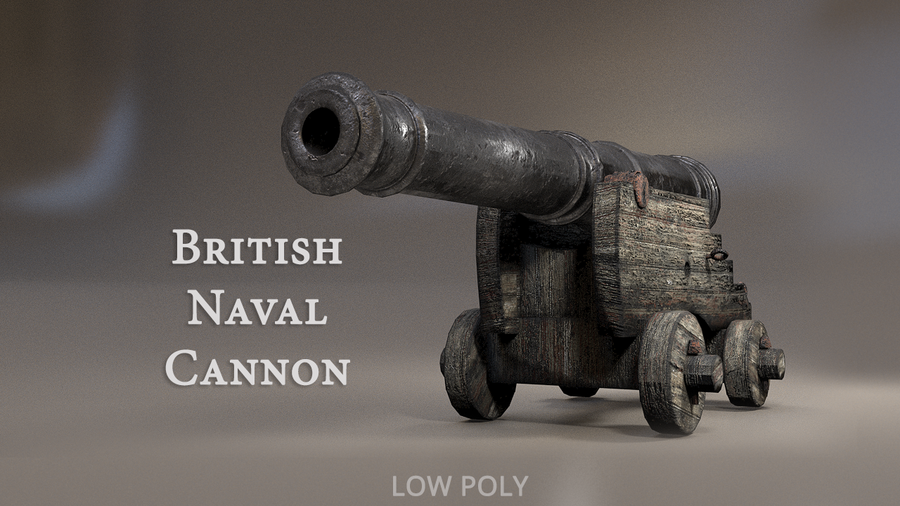 British Naval Cannon