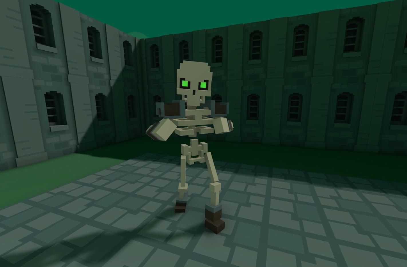 Voxel Dungeon Crawler Test