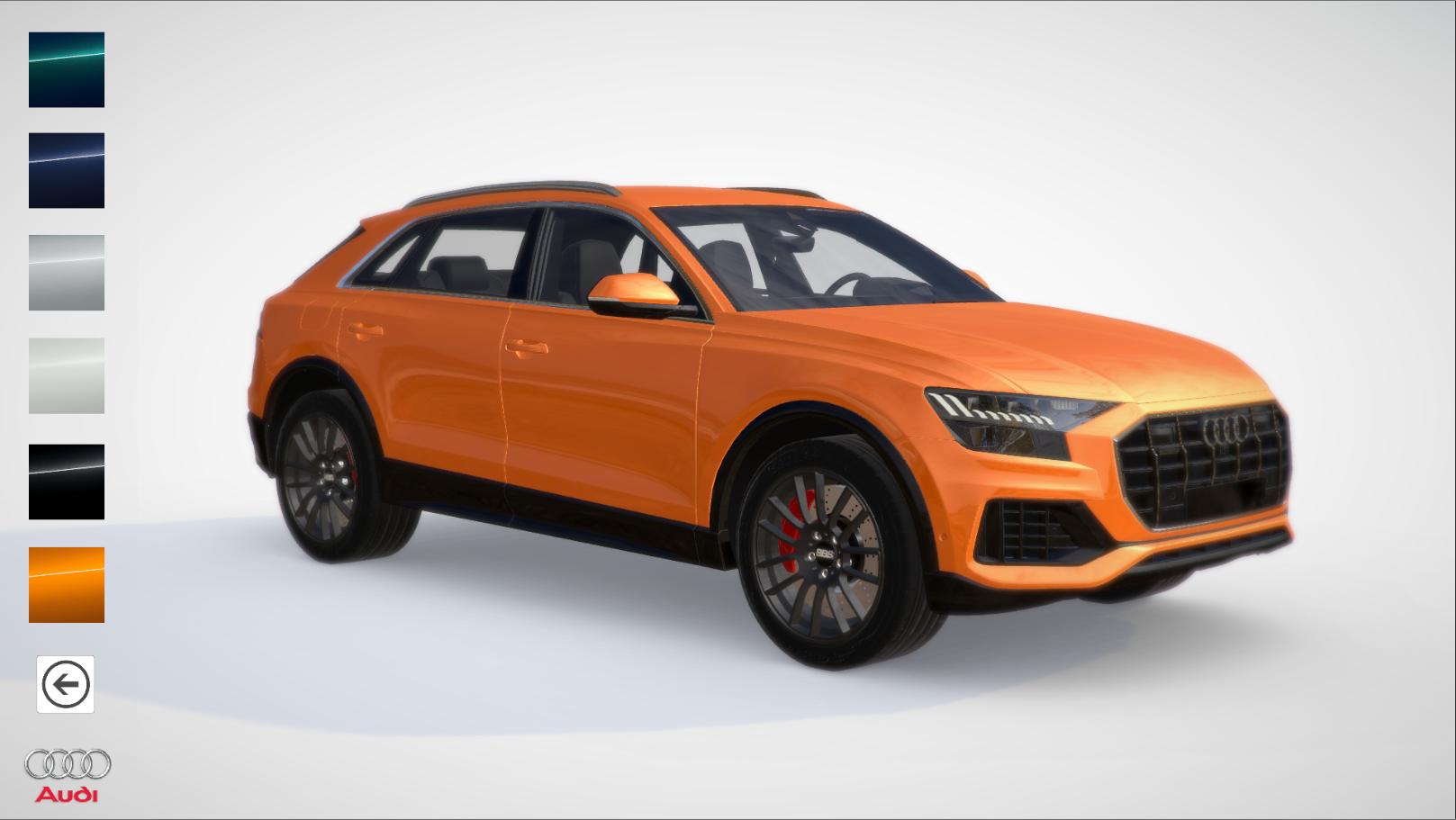 Audi Q8 Configurator Demo - Android
