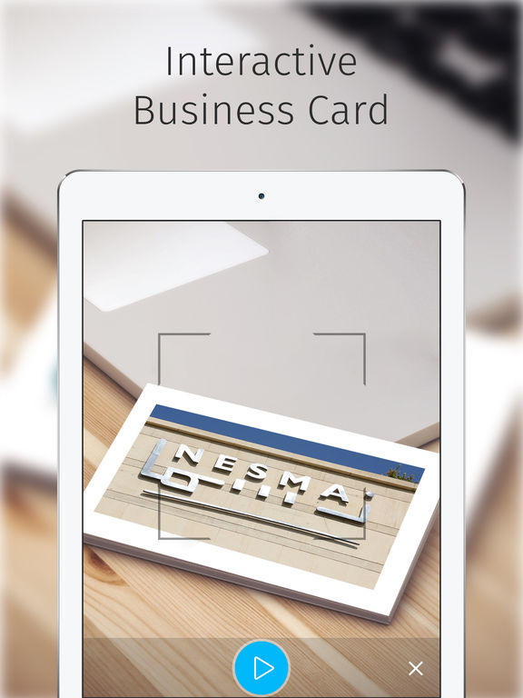 Nesma AR Business Card