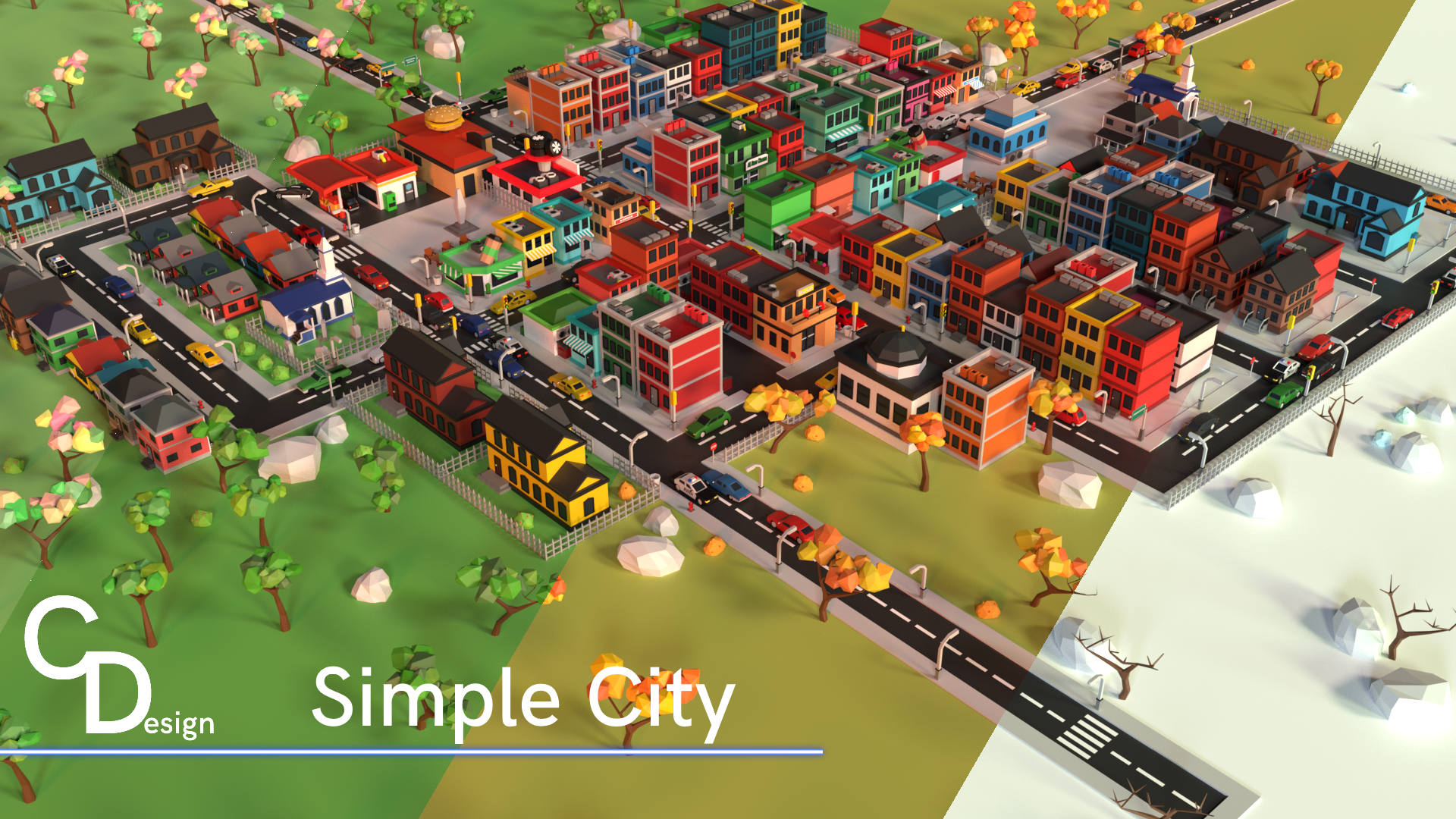 New Simple City Asset Pack