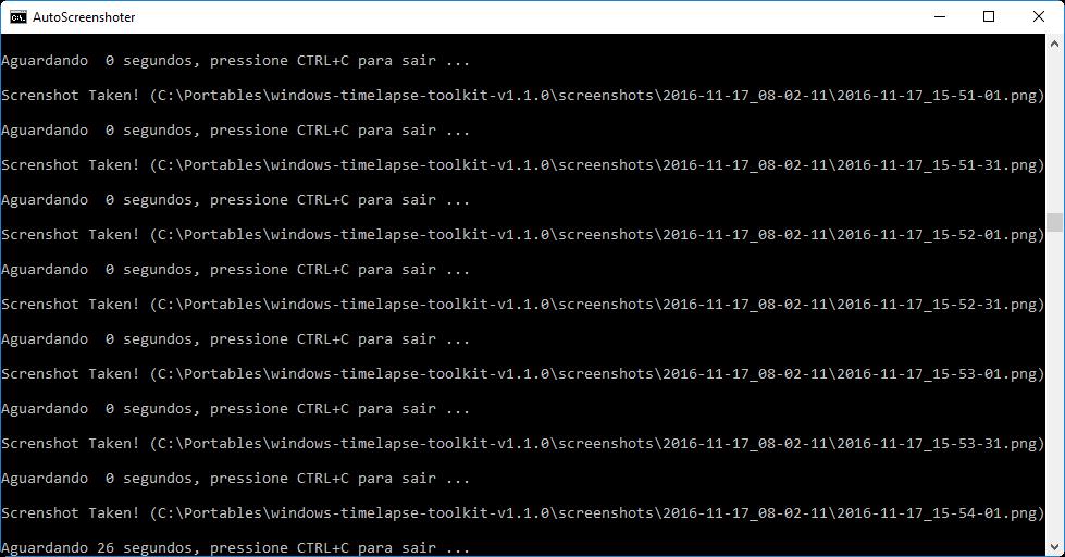 Windows TimeLapse Toolkit