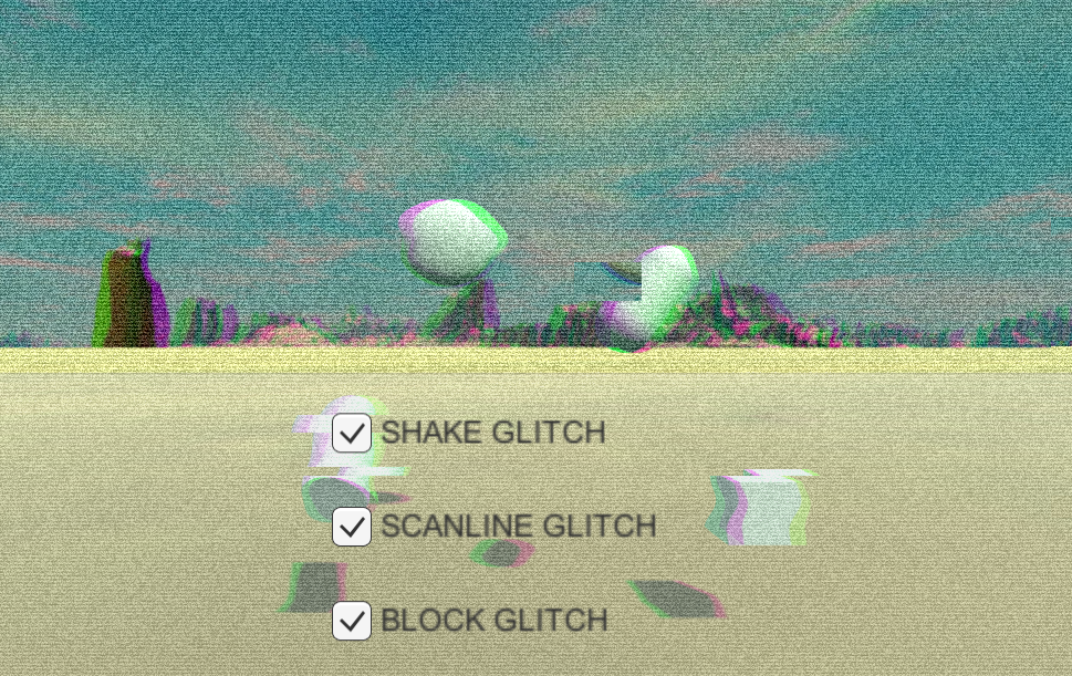 Glitch Effect Shader