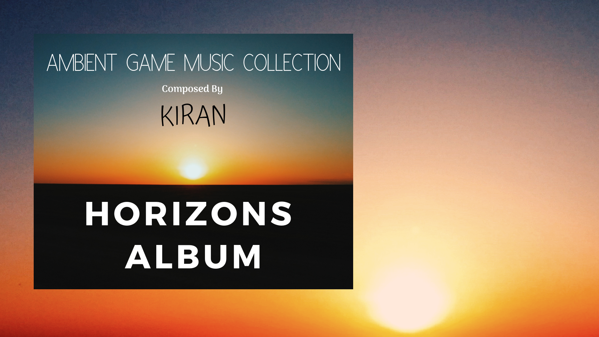 First Game Music Album
