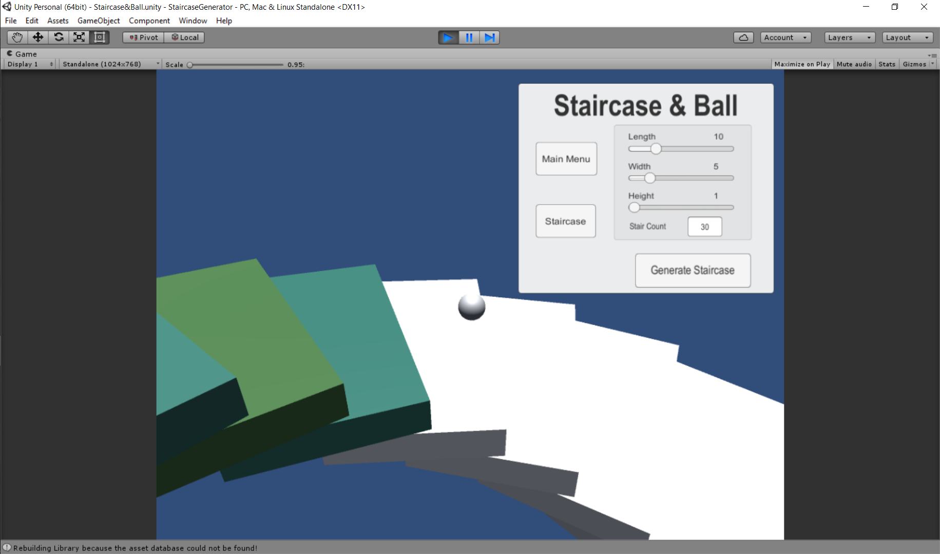 Staircase Generator