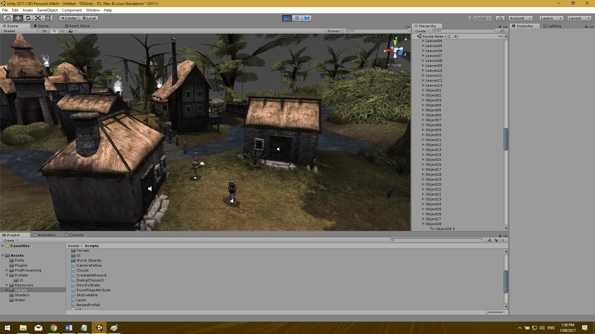 Morrowind to Unity Port