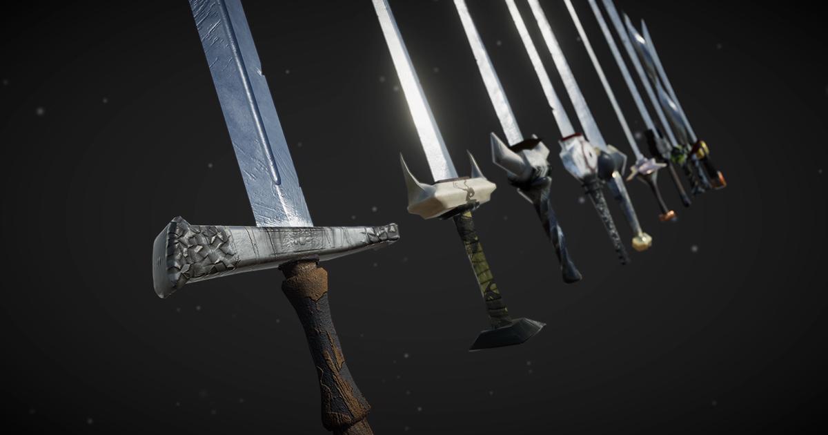 AAA Swords Pack