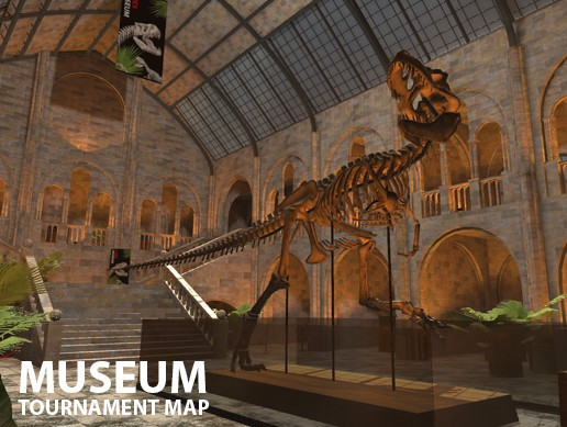 Museum - VR tournament map
