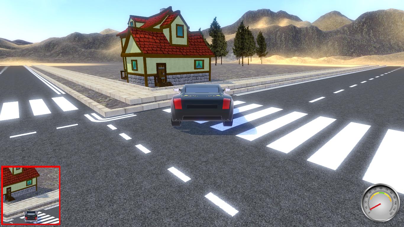 3D CAR RACING GAME!