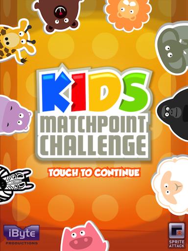 Kids MatchPoint Challenge