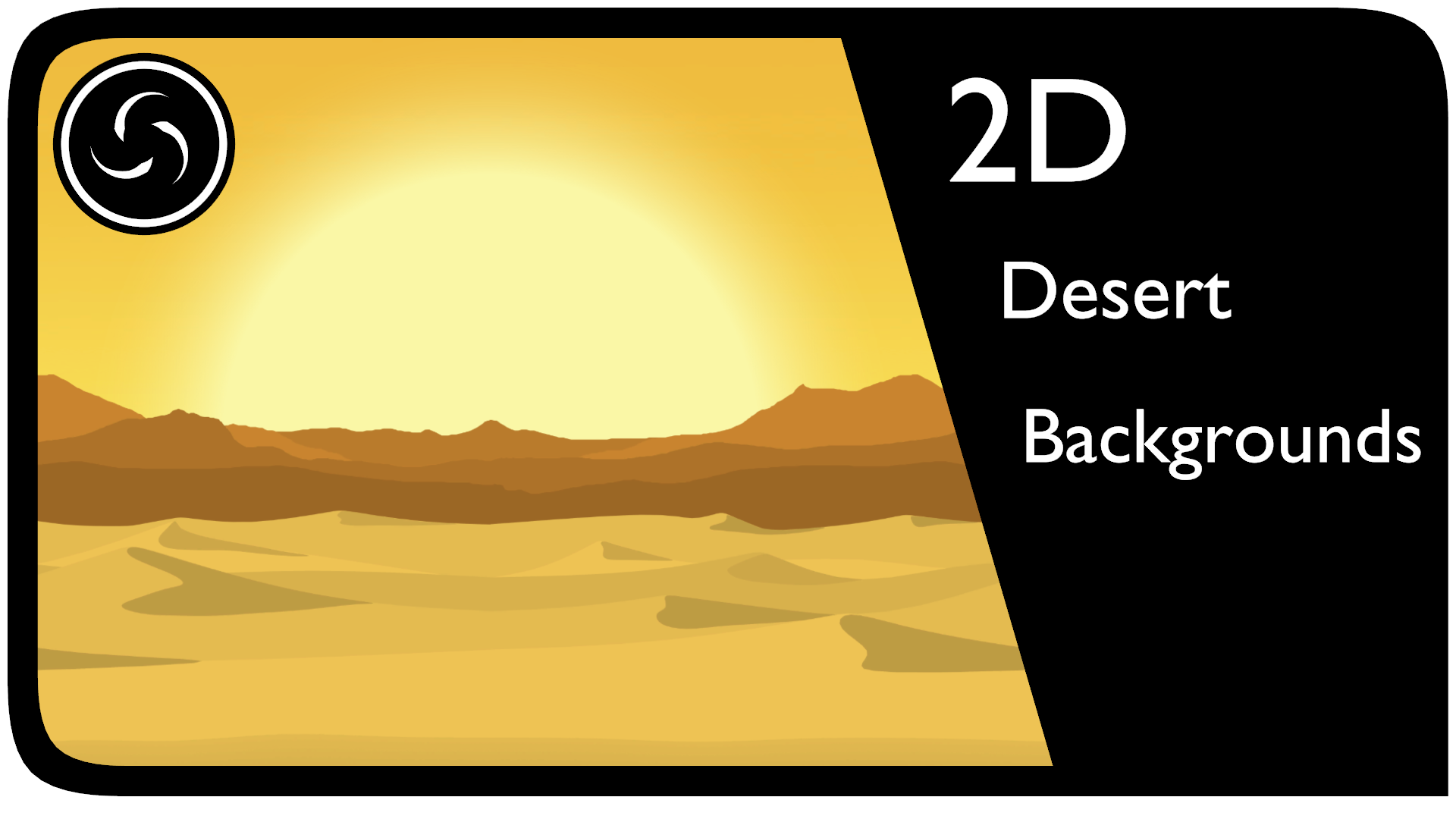 2D Desert Backgrounds