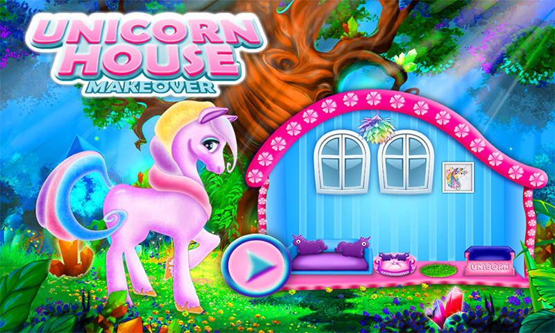 Unicorn House Decoration Game! DIY Dream Pet Home