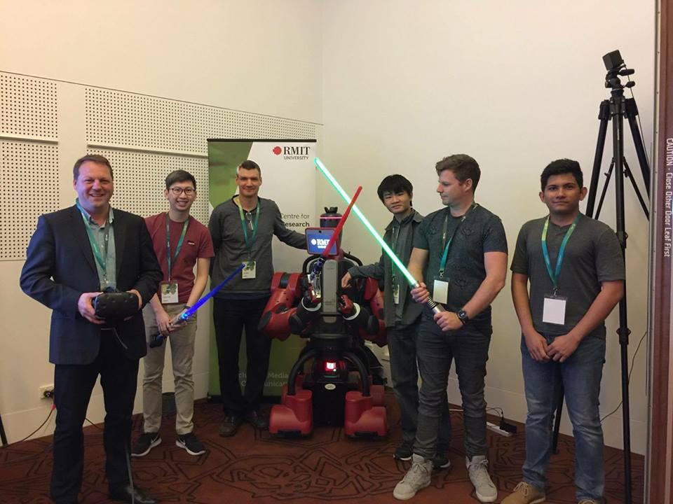 Baxter VR Haptics