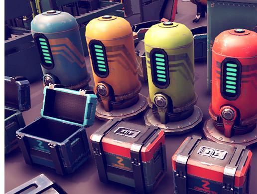 Sci-Fi Objects BIG Pack 2