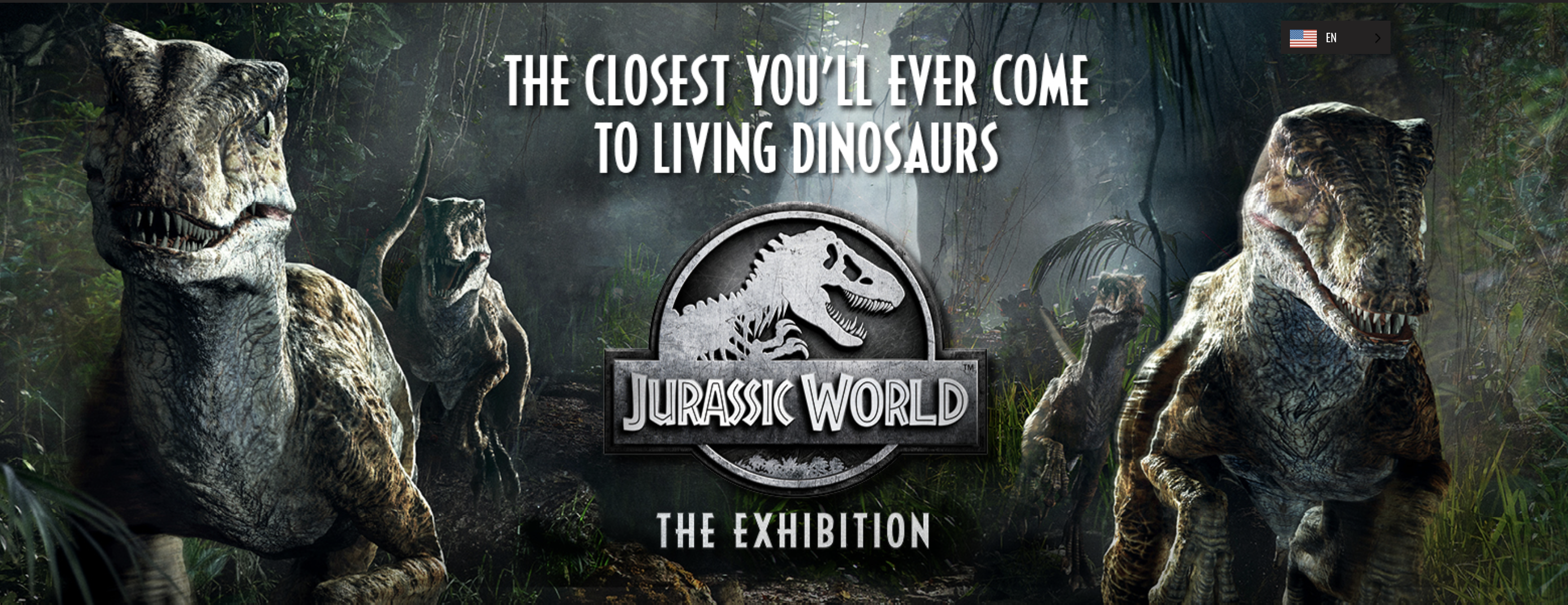 Jurassic World Exhibition