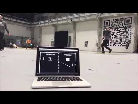 HoloPong Large Scale VR