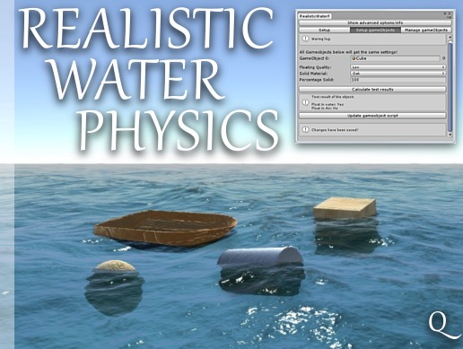 Realistic Water Physics