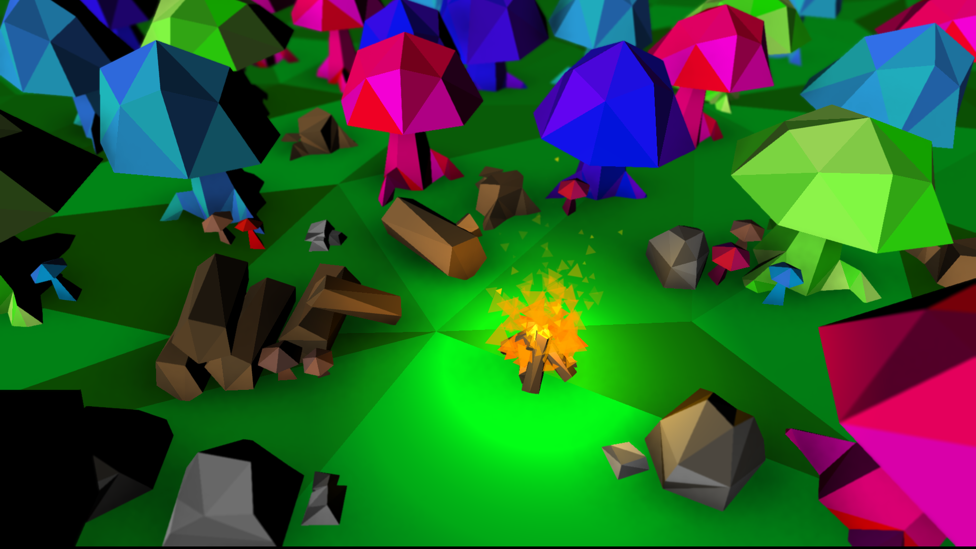 Polygon Splitter and Shader