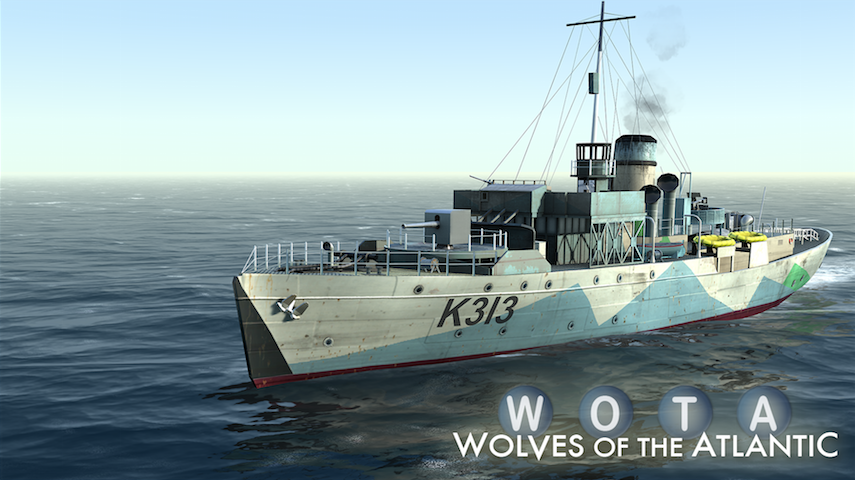 WOTA: Wolves of the Atlantic (mobile)