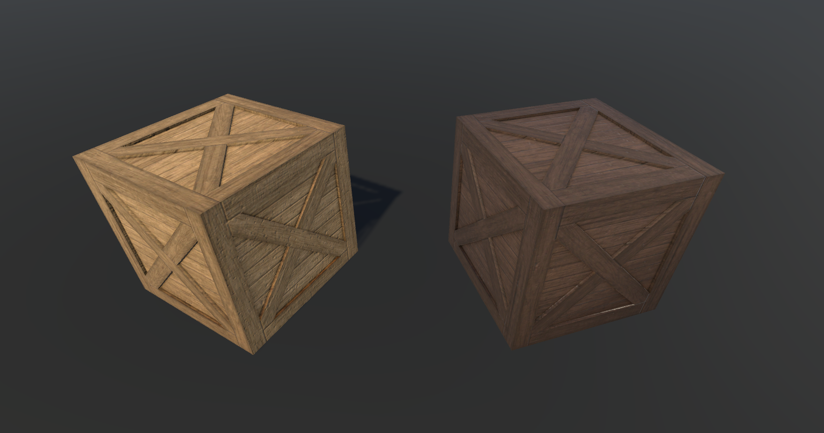 Wooden crates pack