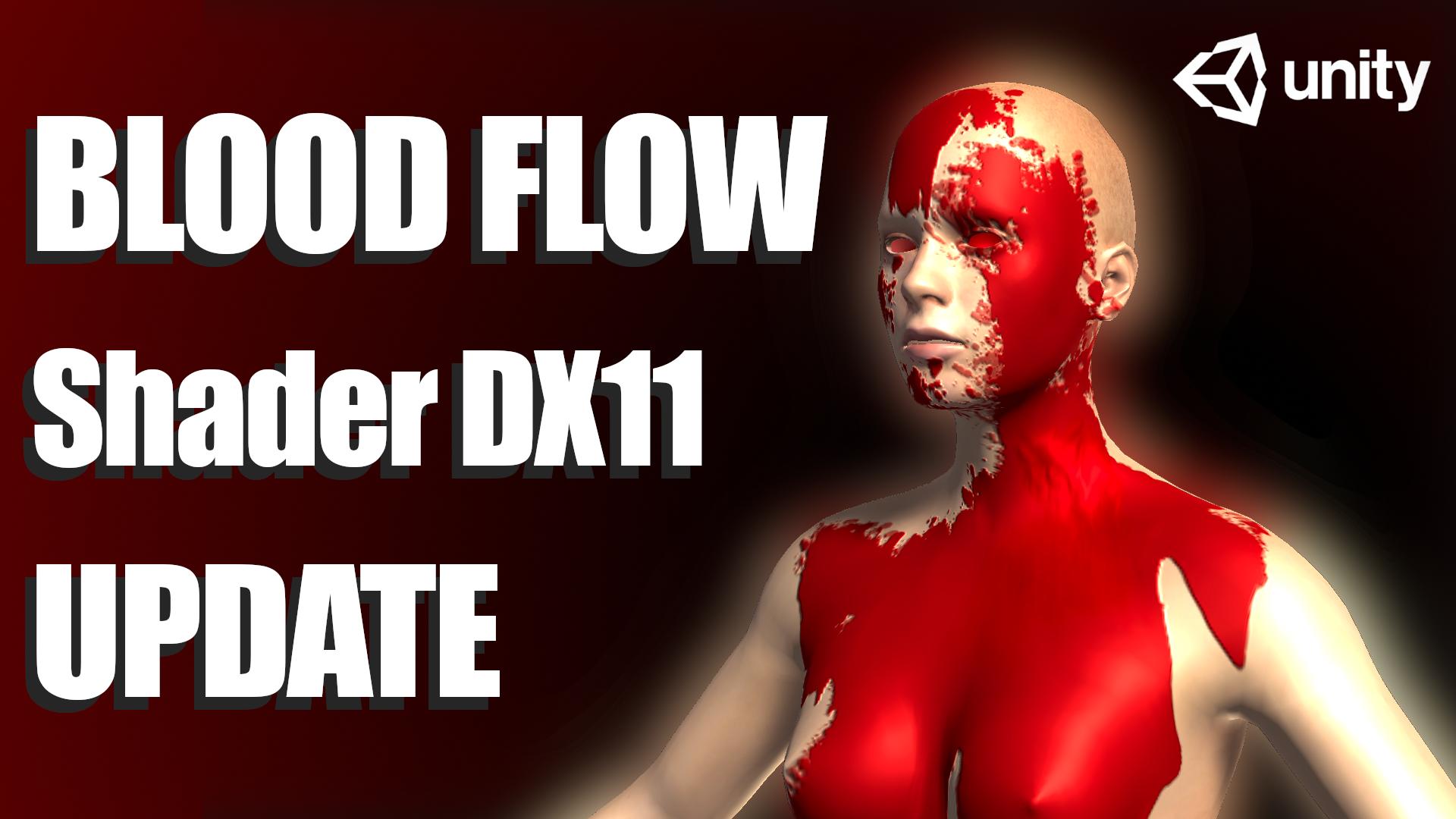 Blood/Fluid dripping shader