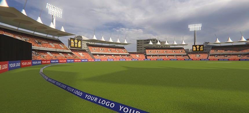 Realistic Cricket Stadium