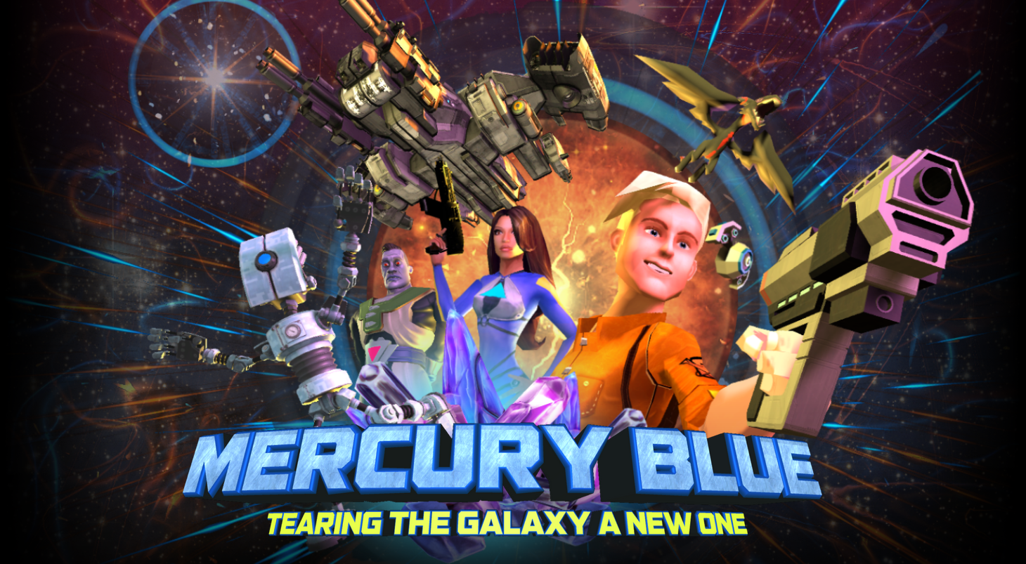 Mercury Blue: Tearing the Galaxy a New One