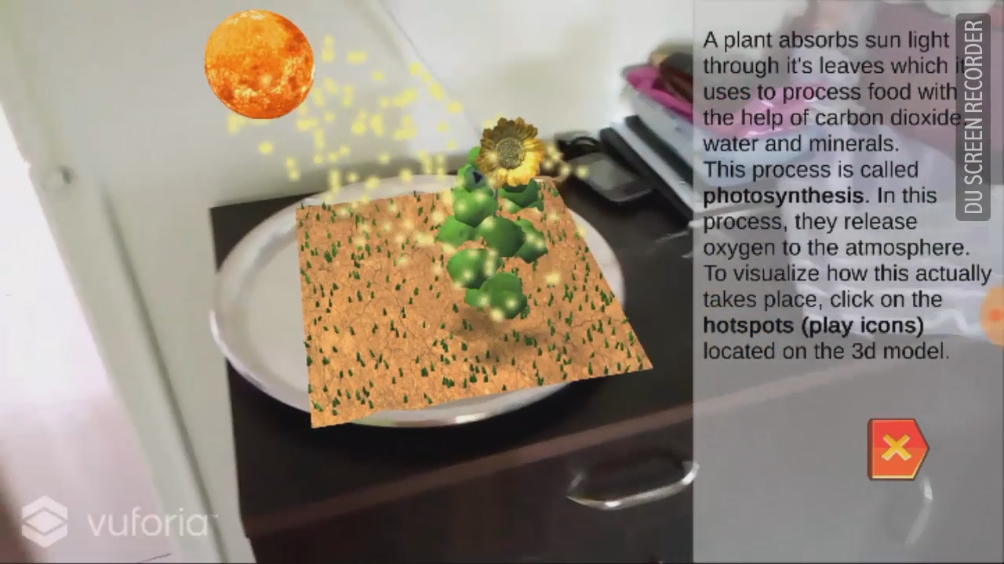 Photosynthesis in AR