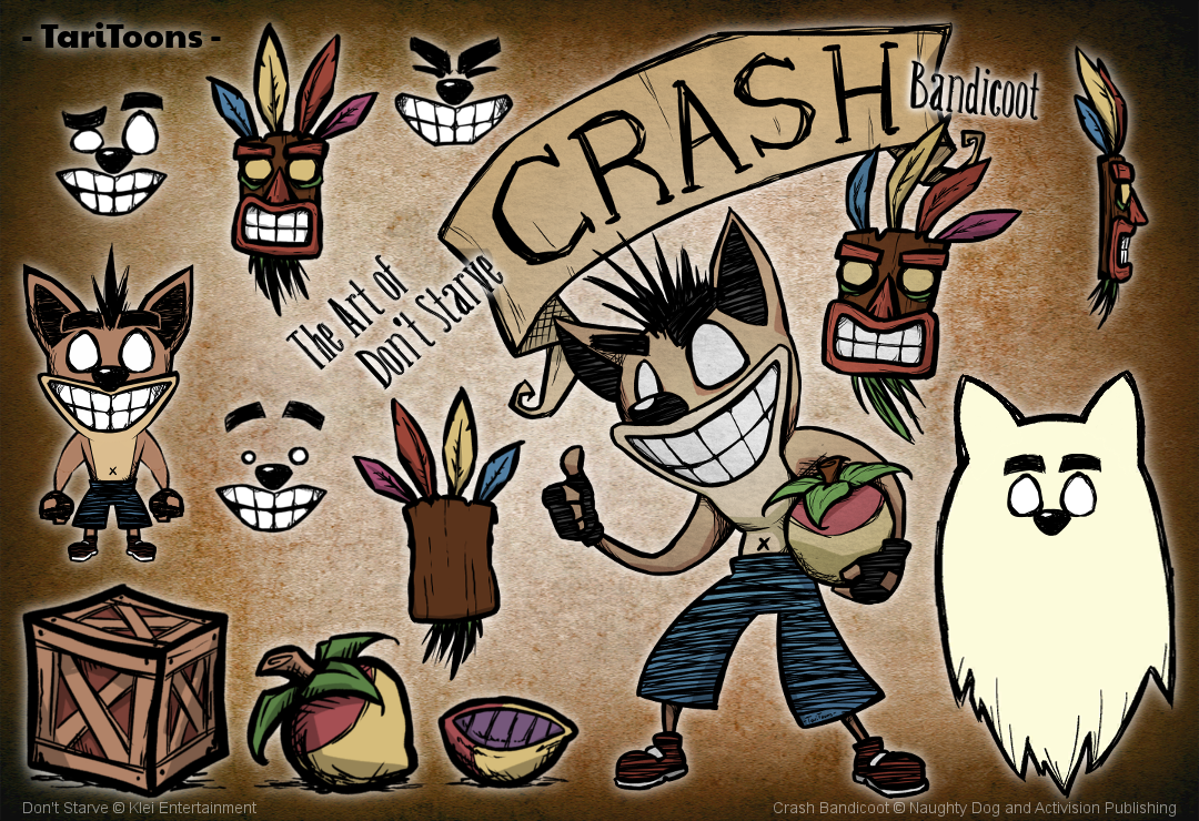 Crash Bandicoot Mod For Don T Starve Together Unity Connect
