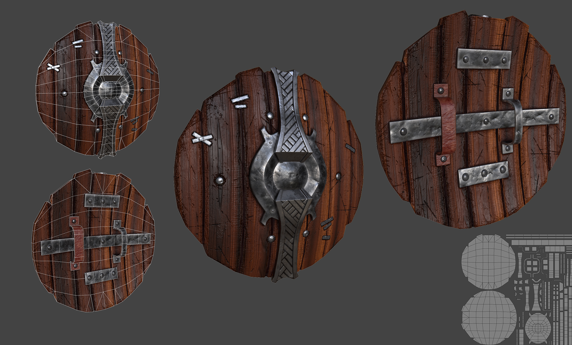 Stylized Shield