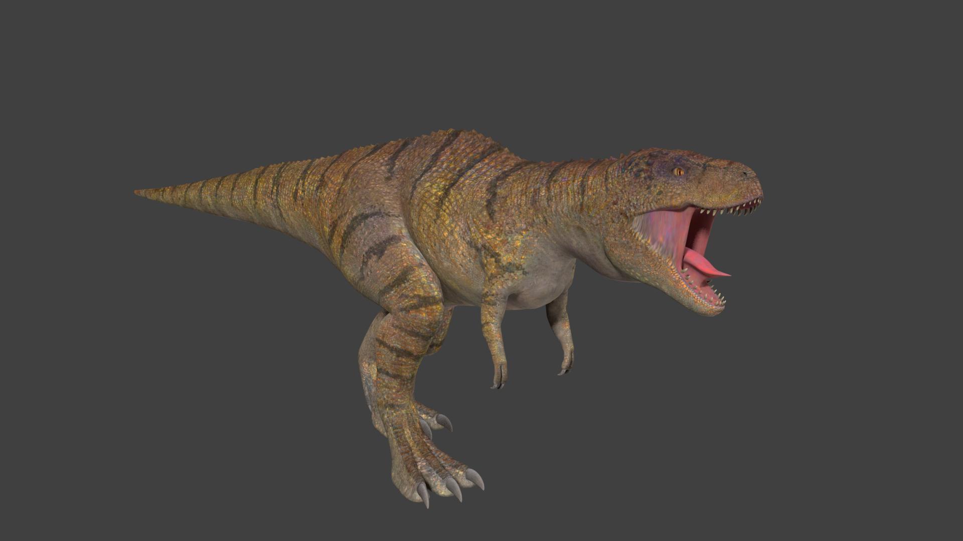 Realistic Giganotosaurus - Unity Asset