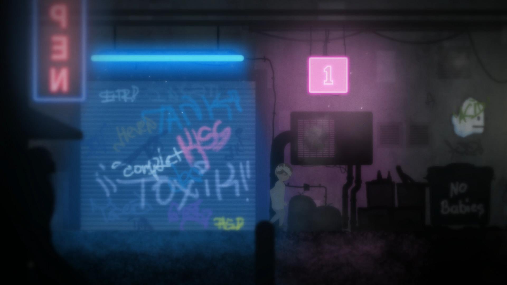 INSANE - Cyberpunk alley screenshots