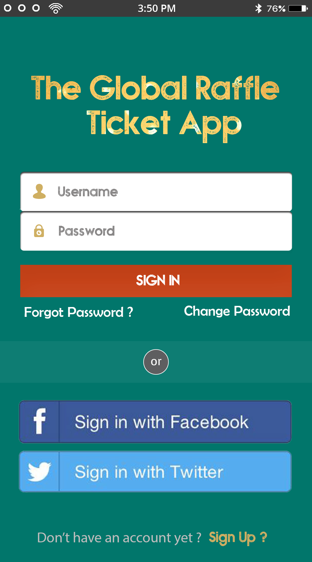 The Global Raffle Ticket App