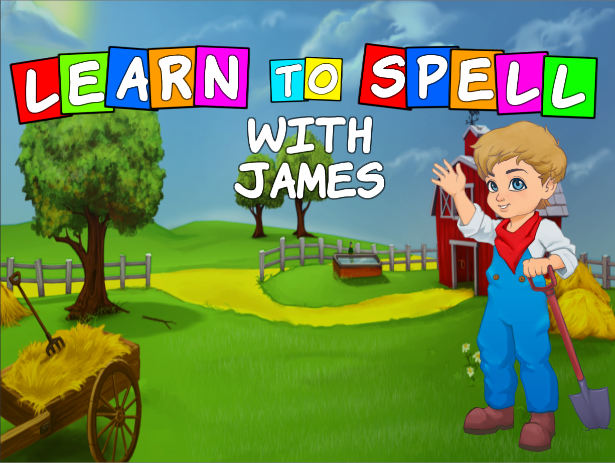 Learn to Spell with James