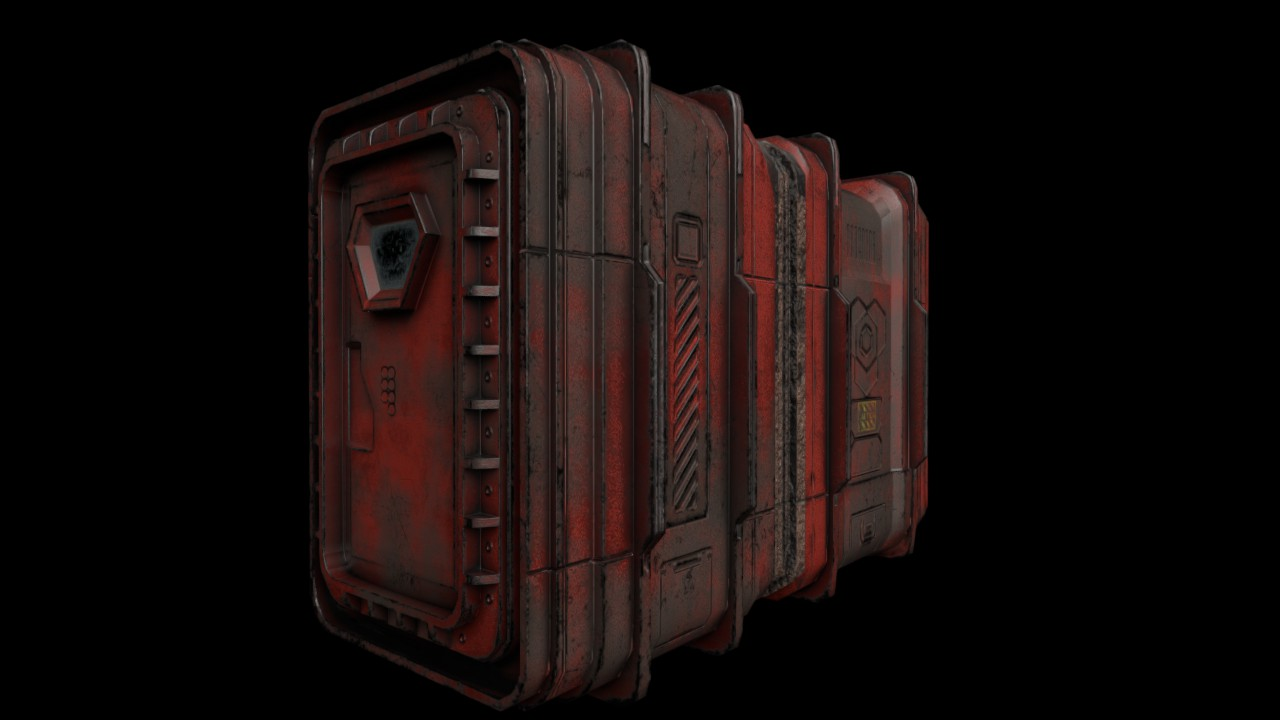 Sci fi Container