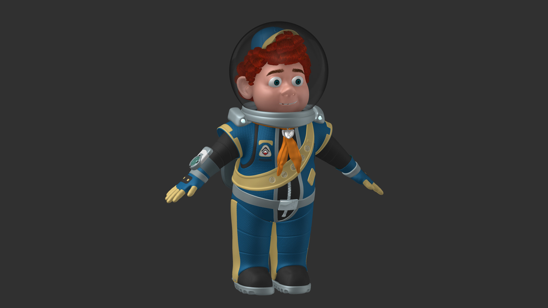 Space Scout Flynn
