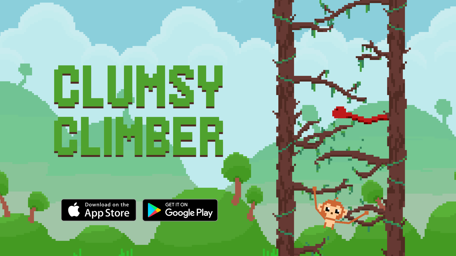 Clumsy Climber - Adknown Games