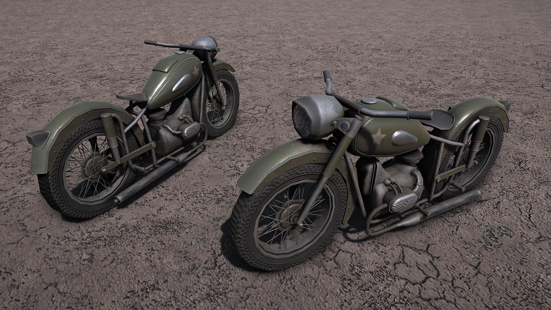 WW2 Motorbike - URAL M-63
