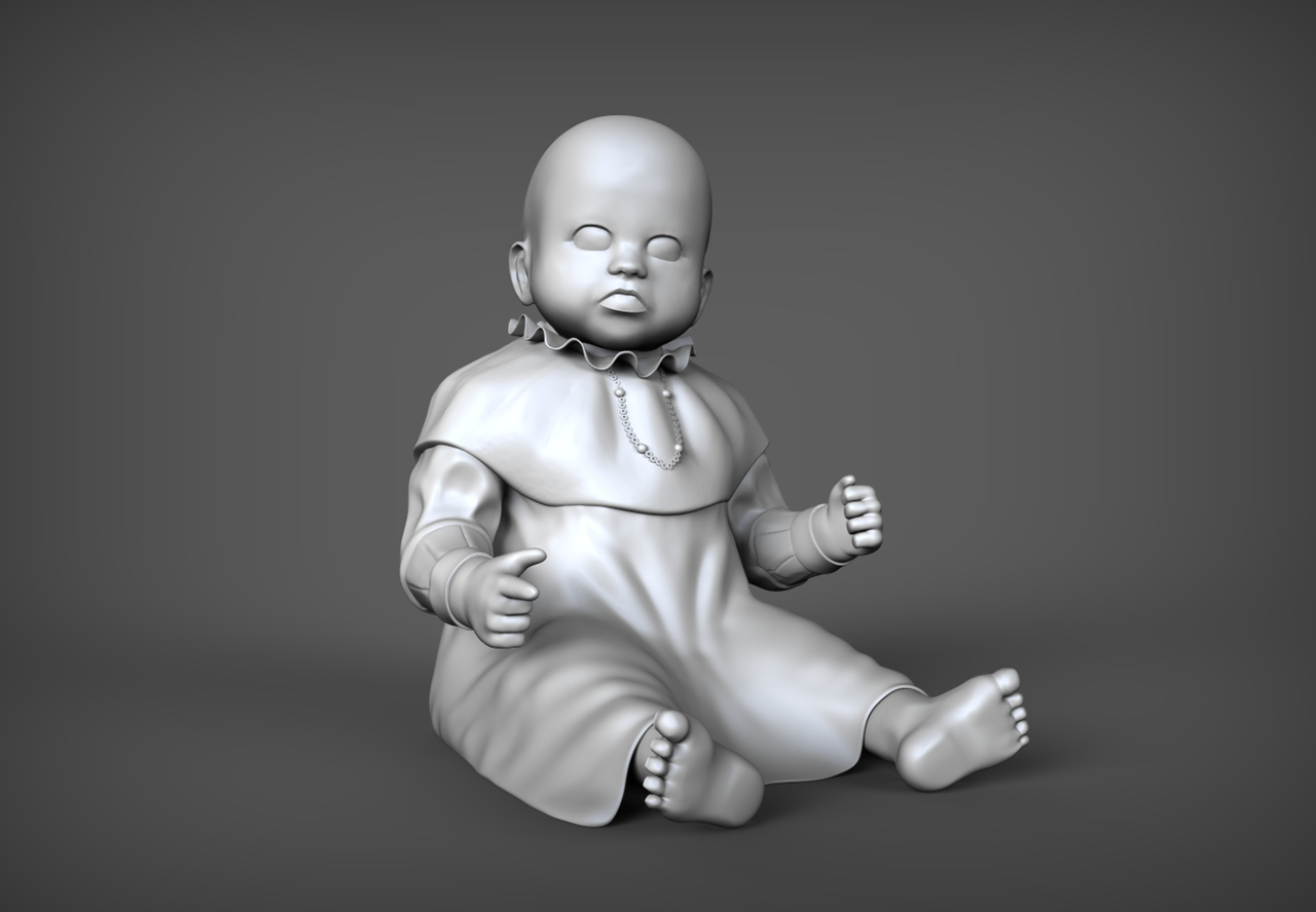 Haunted Baby Doll 2