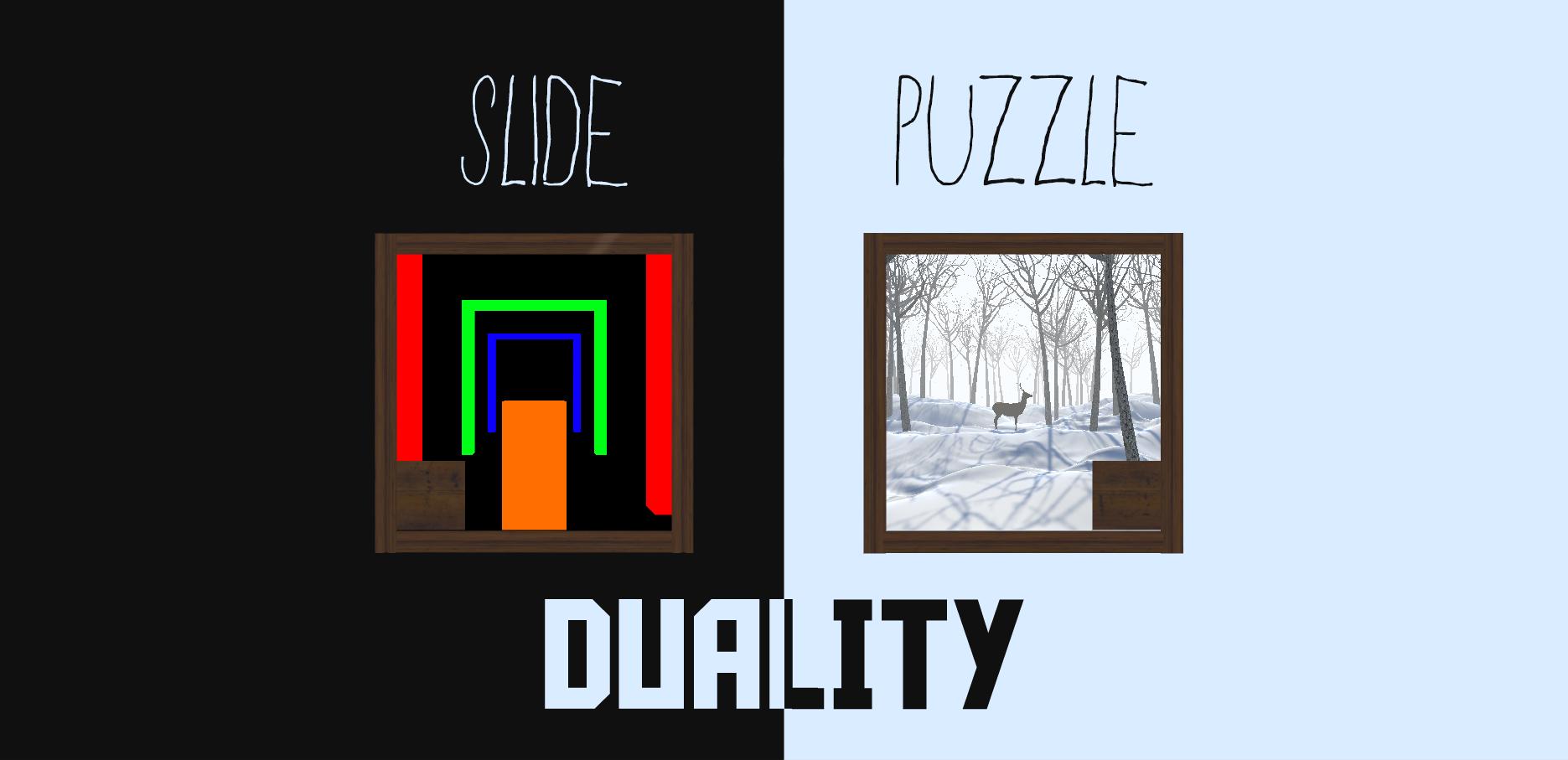 Slide Puzzle - Duality